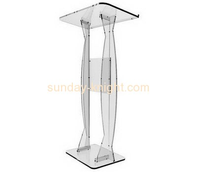 Bespoke clear acrylic podiums and lecterns AP-186