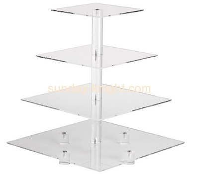 Bespoke acrylic tiered display stand SFK-058