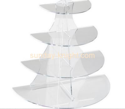 Bespoke acrylic cupcake tiered display stand FSK-066