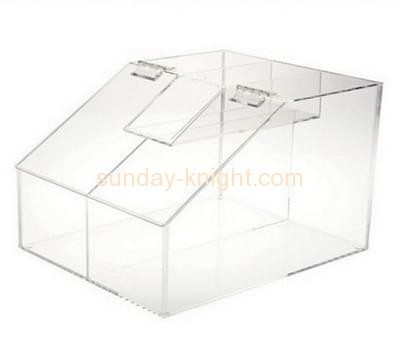 Bespoke clear acrylic pastry display case FSK-103
