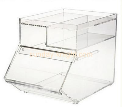 Bespoke acrylic countertop pastry display case FSK-104