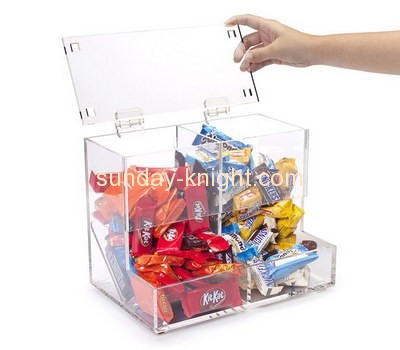 Bespoke clear acrylic candy display box FSK-111