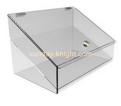 Bespoke clear plastic food display case FSK-120