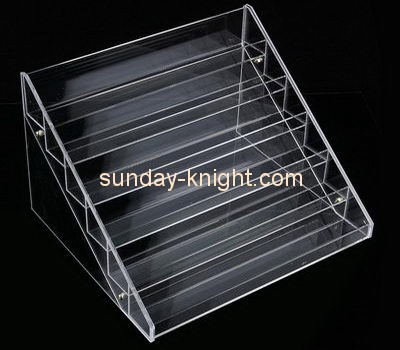 Customize clear acrylic makeup retail display MDK-112