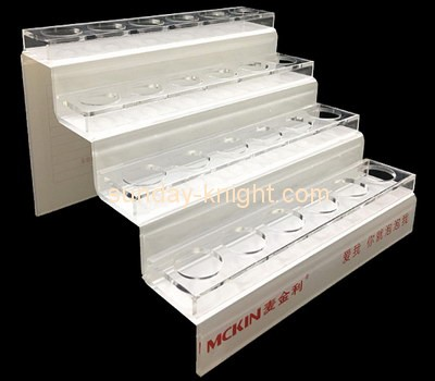 Customize acrylic retail makeup display stand MDK-117