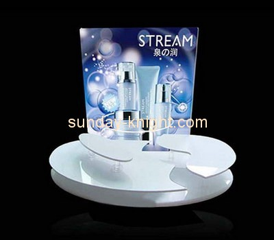 Customize retail lucite risers display stands MDK-147