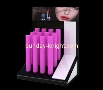 Customize retail lucite lipstick display stand MDK-166