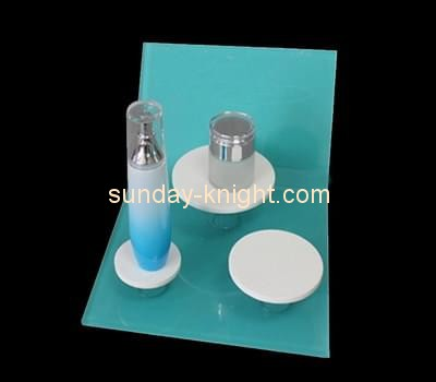 Customize retail lucite cosmetic display units MDK-169