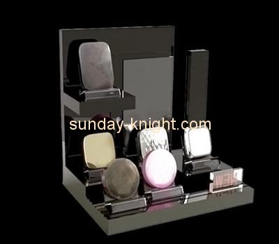 Customize retail lucite makeup display stand MDK-178