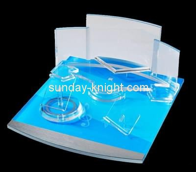 Customize retail acrylic makeup display stands MDK-183