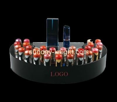 Customize black acrylic lipstick display MDK-186
