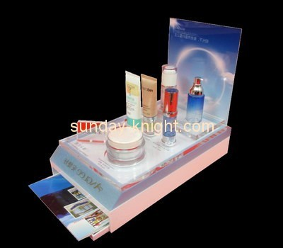 Customize perspex cosmetic display stand MDK-202