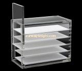Customize cosmetic perspex tiered display stands MDK-247