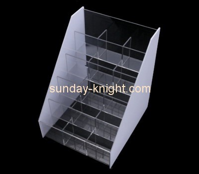 Customize cosmetic tiered display stand MDK-242