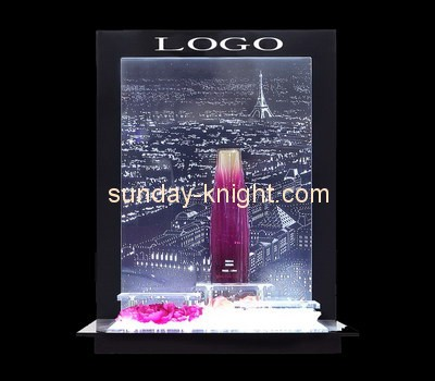 Customize retail acrylic cosmetic display stand MDK-267