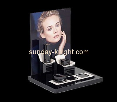 Customize lucite cosmetic display units MDK-266