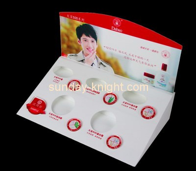 Customize lucite cosmetic store display MDK-271