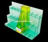 Customize perspex cosmetic product display stands MDK-303
