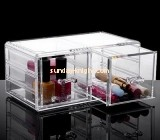 Customize acrylic 2 drawer makeup organizer MDK-311
