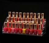 Customize clear acrylic nail polish holder MDK-321