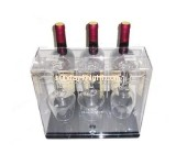 Customize acrylic mixed wine case WDK-064