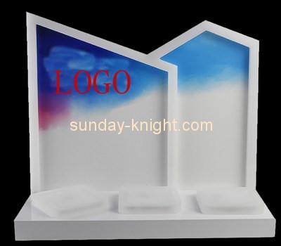 Customize lucite cosmetic shop display MDK-300
