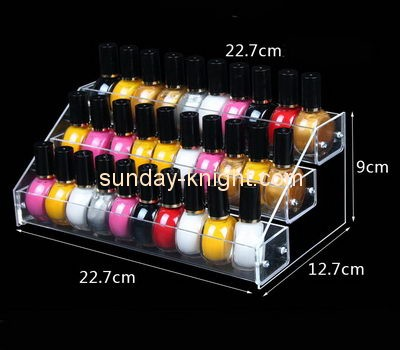 Customize lucite nail polish holder MDK-368