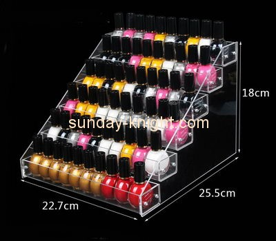 Customize lucite nail polish bottle holder MDK-371