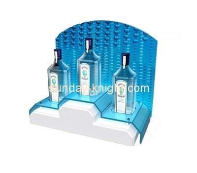 Customize acrylic wine display WDK-066