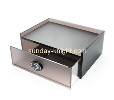 Customize acrylic single drawer box DBK-660