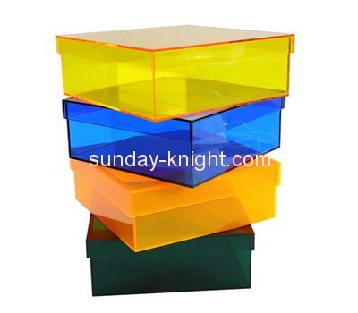 Customize acrylic box with lid DBK-676