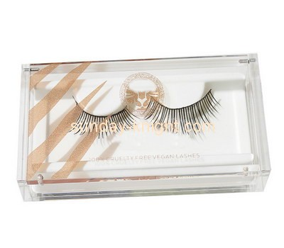 Customize acrylic lash box DBK-692