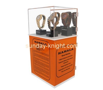 Customize acrylic watch display case DBK-694