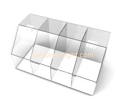 Customize clear lucite box with lid DBK-698