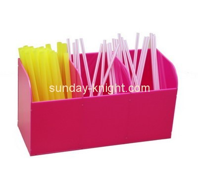 Customize plexiglass 3 compartment box DBK-705