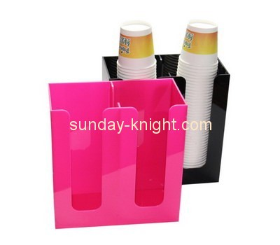 Customize acrylic portable cup holder DBK-708