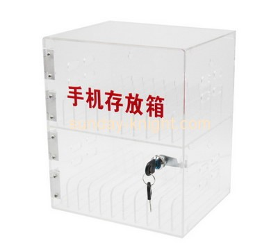 Customize acrylic mobile storage box DBK-737