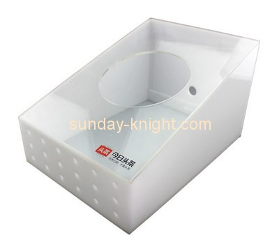 Customize acrylic cheap container storage DBK-752