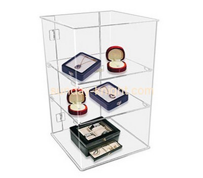 Customize acrylic showcase display case BDC-758