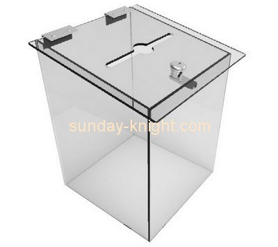 Customize acrylic suggestion box for sale DBK-770