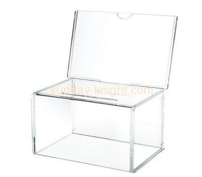 Customize acrylic company suggestion box DBK-773