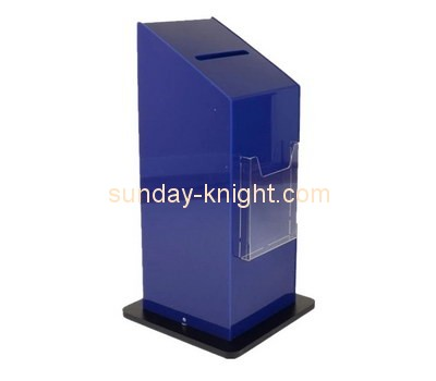 Customize acrylic large suggestion box DBK-781