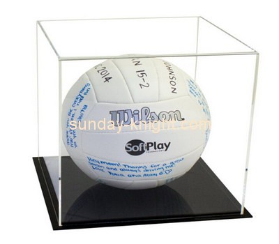 Customize acrylic volleyball display case DBK-788