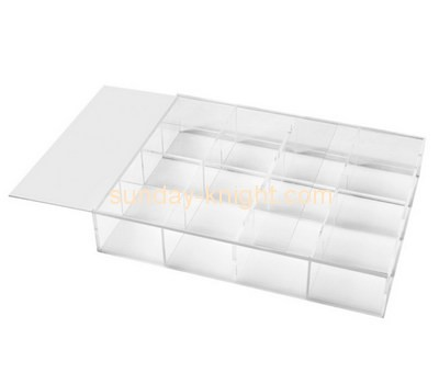 Customize clear 16 compartment storage box DBK-822