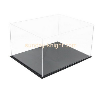 Customize clear perspex display case DBK-821