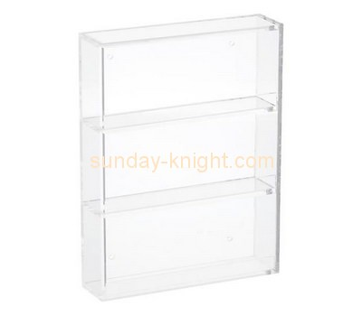 Customize acrylic standing display case DBK-834