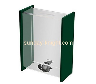 Customize perspex donation box DBK-845
