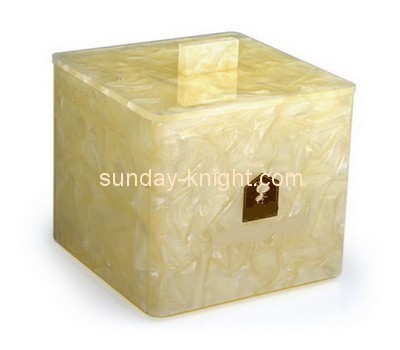 Customize small acrylic box with lid DBK-887