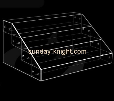 Customize clear tiered countertop display ODK-363