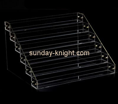 Customized acrylic tabletop tiered display stand ODK-365
